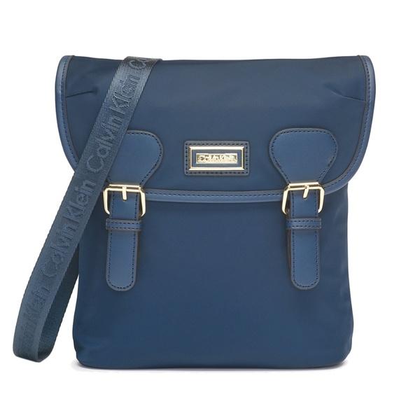 e3faf6e7de Calvin Klein Bags   Nwt Navy Nylon Florence Crossbody Bag   Poshmark